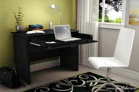 Small Dark Wood Computer Desk For Home Office Nytexas by Computer Desk For A Small Space Wooden Office Chair Design Ideas