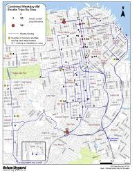 Bus Map San Francisco by Noe Valley Sf May 2011