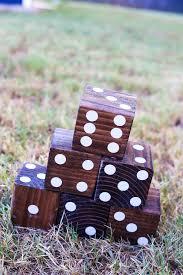easy diy lawn dice game scorecard love u0026 renovations