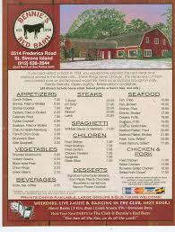 bennie u0027s red barn saint simons island saint simons island