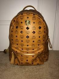 mcm designer mcm cognac backpacks up to 70 at tradesy