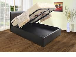 Ottoman Storage Bed Frame by Rubybeds