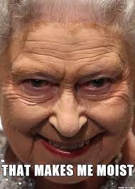 Queen Of England Meme - til queen elizabeth does not need a passport since all british