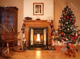 christmas living room decor christmas tree laminate wooden floor