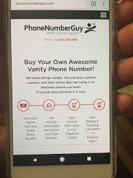 Buy Vanity Phone Number Phonenumberguy Inc Telecommunications 50 California St