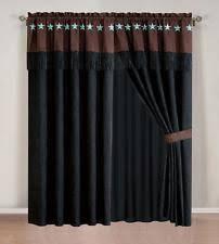 Western Drapery Fabric Western Curtains Ebay