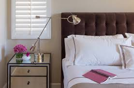 white button tufted headboard design ideas