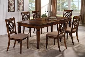 oak dining room set coaster fine furniture 103391 103392 rectangular dining table set