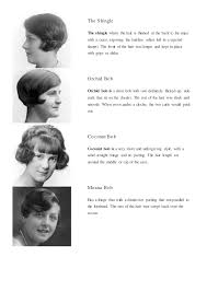 bobbed haircut with shingled npae research for ots 1920 s