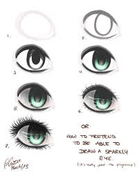 drawing a eye step by step how to draw a realistic female eye 10