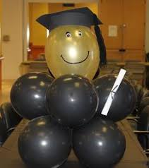 congratulations graduate balloon gift sent already filled with
