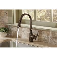 Brushed Bronze Kitchen Faucet Oil Rubbed Bronze Faucet Nujits Com