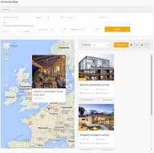 Real Estate Map Frontend View In Real Estate Manager Real Estate Website Solution