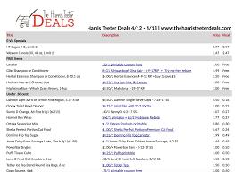 harris teeter deals weekly list and coupon matchups 4 12 u2013 4 18
