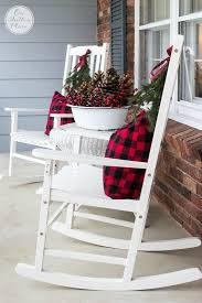Christmas Decorations Outdoor Ideas Pinterest by Best 25 Christmas Porch Decorations Ideas On Pinterest