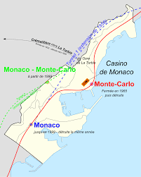 Spain Train Map by Rail Transport In Monaco Wikipedia