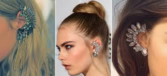 how do you wear ear cuffs evolution of the ear cuff desibeauty