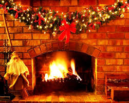 cute fireplace christmas decorations on decoration with christmas