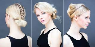 on the go hairstyles rushed for work these 15 chic hairstyles take under 60 seconds