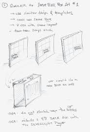 steve ball sketch box packaging ideas page two