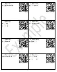 solving equations color worksheet solving equations combining