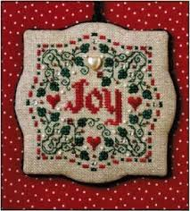 sweetheart tree ornament cross stitch kit