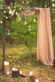 Small Backyard Wedding Ceremony Ideas by Best 25 Home Wedding Ideas On Pinterest Wedding At Home