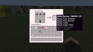 minecraft banner tutorial 21 letters a en b youtube