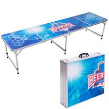 aluminum ping pong table 8ft beer pong table ebay