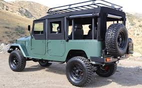 icon fj40 icon toyota fj44 four door for sale only 157 000 truck trend