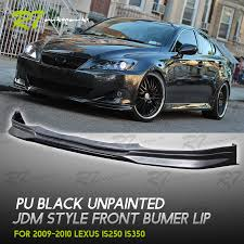 2010 lexus is 250 jdm for 09 10 lexus is250 350 front bumper lip chin splitter valance