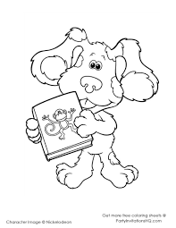 perfect blues clues coloring pages 48 for your picture coloring
