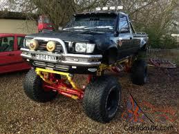 monster v8 hilux truck