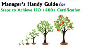 iso 14001 iso 14001 certification steps manager u0027s handy guide