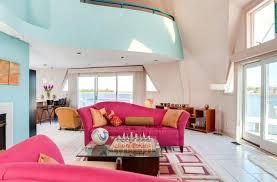 aqua living room walls window treatments blog curtain rods