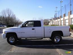 Dodge Ram White - 1999 dodge ram 1500 sport extended cab 4x4 in bright white photo