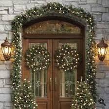 front door decorations happy holidays
