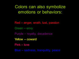 Black Purple Pink Green Peace by Color Theory U0026 Symbolism In Art U0026 Design Ppt Video Online Download