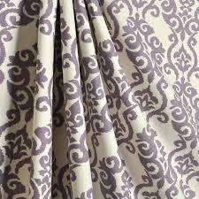 Dusty Curtains 2 Beautiful Waverly Luminary Lilac Curtain Panels 25w X 84l Dusty