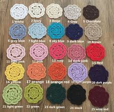 Crochet Home Decor Patterns by European Luxury Cotton Crochet Lace Table Cloth With Embroidered