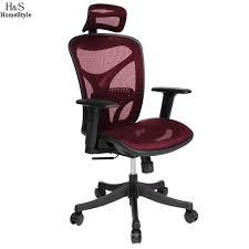 chaise bureau homdox officiel chaise réglable haute maille exécutif bureau