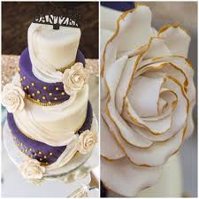 wedding cake ottawa purple white and gold wedding cake carlascakes ottawa best home