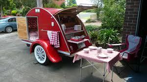 teardrop caravan in melbourne vic ebay retro u0026 clever
