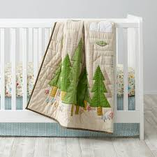 neutral crib bedding the land of nod