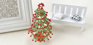 Christmas Decorations For Tree To Make by How To Make Christmas Tree Ornament For Desk Decoration 7 Steps