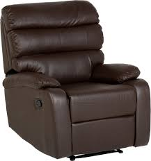 Black Leather Recliner Chairs Memphis Swivel Recliner Chair In Black Faux Leather With Matching