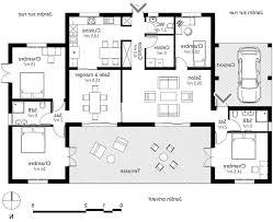 maison 4 chambres plan maison 4 chambres plain pied gratuit meilleur de maison 6