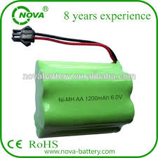 rechargeable aa batteries for solar lights nimh 6 0v 1200mah aa rechargeable battery pack for solar light buy