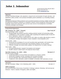 great resume examples free resume template microsoft word 7 free