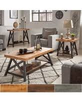cocktail tables and end tables snag this sale 10 off bryson rustic x base accent tables by